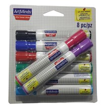 ArtMinds Dry Erase Markers, 8 Count