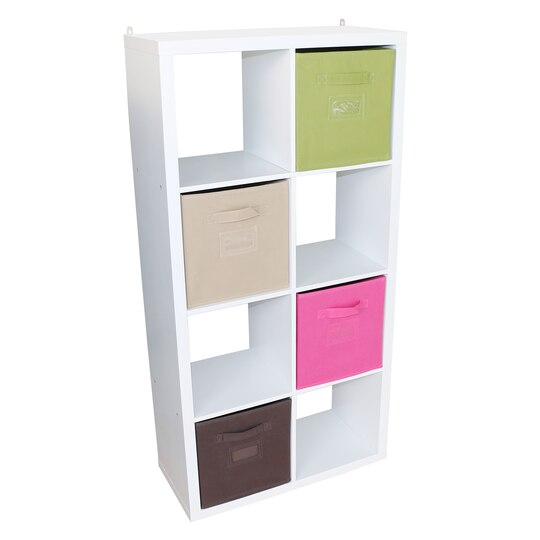 Recollections craft storage system 8 cube honeycomb for Recollections craft room storage amazon