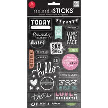mambiSTICKS Chalkboard Stickers, Today