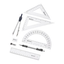 Westcott Geometry Sets, 8 Pieces