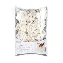 Modern Romance Floral Picks, White Rose
