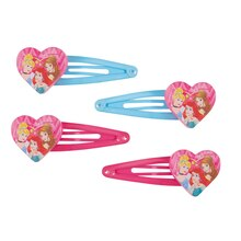 Dream Disney Princess Hair Barrettes, 4ct