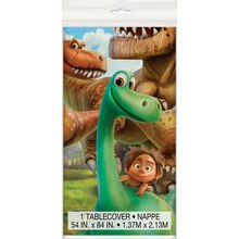 "Plastic The Good Dinosaur Table Cover, 84"" x 54"""