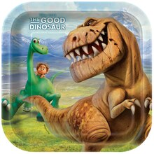 Square The Good Dinosaur Dessert Plates, 8ct