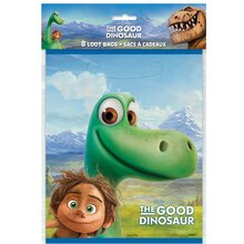 The Good Dinosaur Favor Bags, 8ct