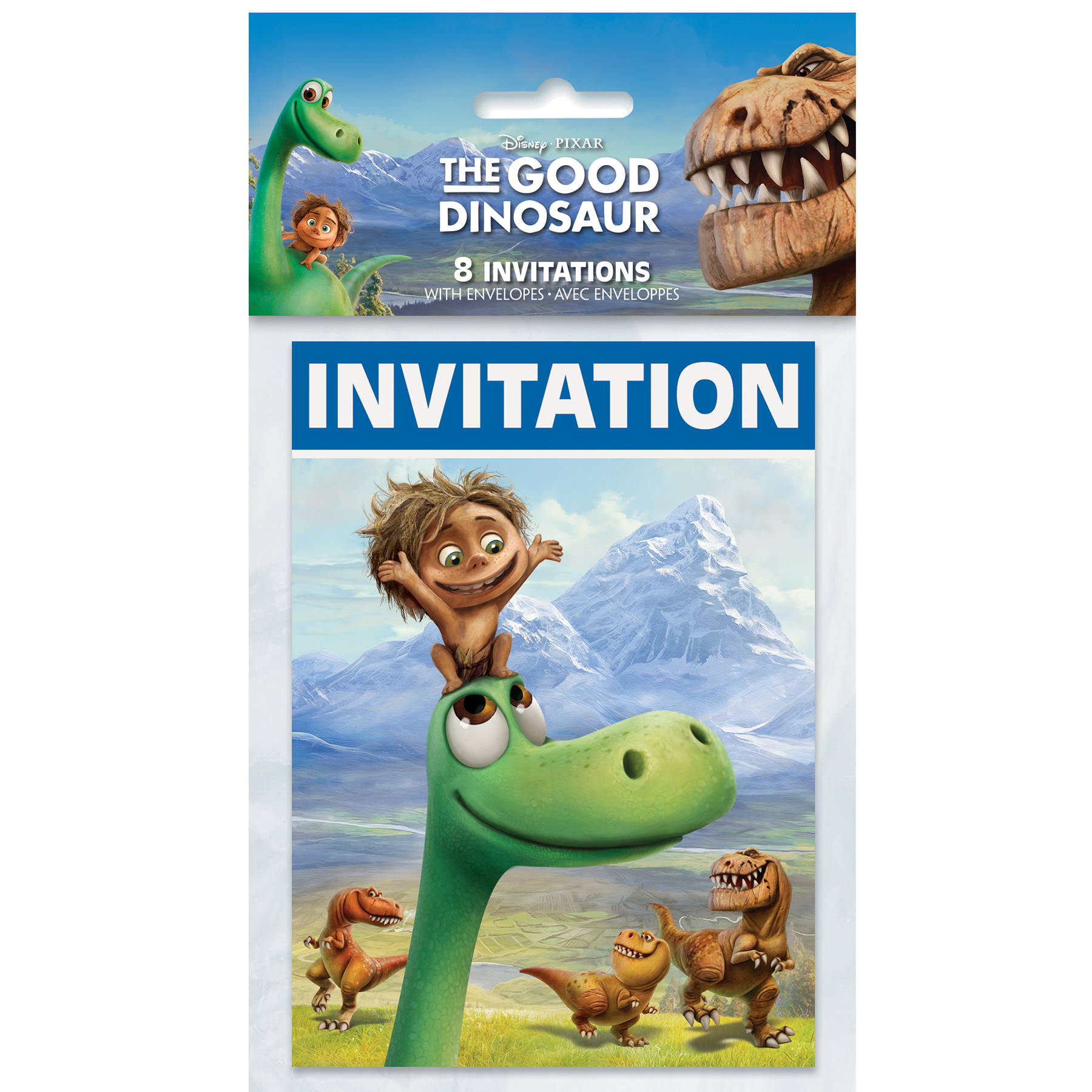 The Good Dinosaur Invitations The Good Dinosaur Party Supplies