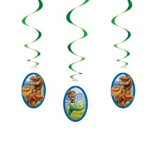 Hanging The Good Dinosaur Decorations, 3ct