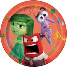 7 Disney Inside Out Dessert Plates, 8ct