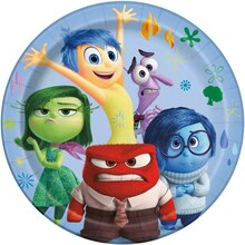 9 Disney Inside Out Dinner Plates, 8ct