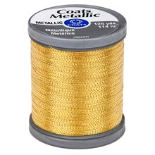 Coats & Clark Metallic Thread, Bright Gold