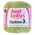 Aunt Lydia's Fashion Crochet Cotton Thread, Lime