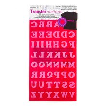 Horizon Transfermations Iron-On Flocked Letters