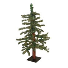 Natural Alpine Artificial Christmas Tree