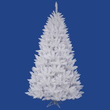5.5' White Sparkle Spruce Artificial Christmas Tree - Unlit
