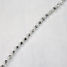 Just Right Bead Garland - Sterling Metallic
