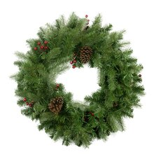 Berry and Pine Cone Wreath 150 Tips
