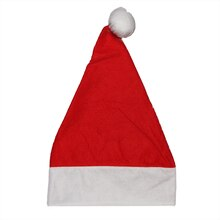 "17"" Adult Santa Hat With Extended Cuff, Medium"