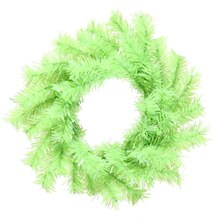 Chartreuse Green Artificial Mini Christmas Wreath