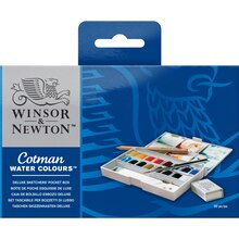 Winsor & Newton Cotman Watercolor Deluxe Sketchers Pocket Box