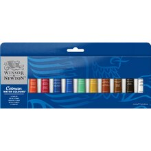 Winsor & Newton Cotman Water Colour 12 Tube Set - 8ml