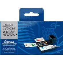 Winsor & Newton Cotman Watercolor Field Box Set - 12 Half Pans