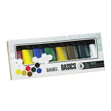 Liquitex BASICS Acrylic Color Set, 8 Count