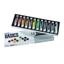 Liquitex BASICS Acrylic Color Set, 12 Count