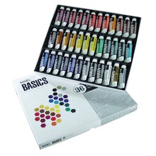 Liquitex BASICS Acrylic Color Set, 36 Count