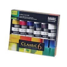 Liquitex Professional Heavy Body Acrylic Paint - Classic 6 Set