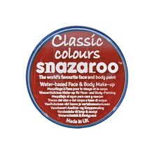 Snazaroo Face Paint Classic Colors Bright Red