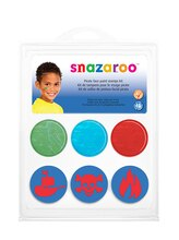 Snazaroo Face Paint Stamp Kit, Pirate