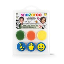 Snazaroo Face Paint Stamp Kit, Birthday Party