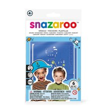 Snazaroo Face Painting Stencils, Boys Adventure