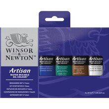 Winsor & Newton Artisan Water Mixable Oil Colour 6 Tube Beginner Set