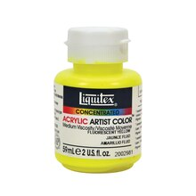Liquitex Professional Soft Body Acrylic Paint, Fluorescent Yellow