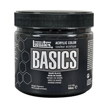 Liquitex BASICS Acrylic Paint Jar 32oz Mars Black