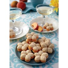 Peach Bellini Sandwich Cookies, medium