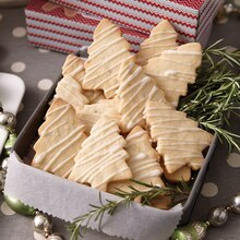 Rosemary-Lemon Shortbread, medium
