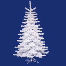 14 ft. Unlit Crystal White Medium Artificial Christmas Tree
