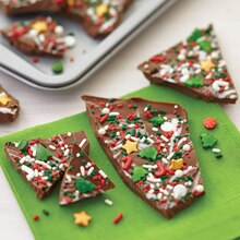 Ho Ho Holiday Christmas Bark, medium