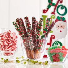 Whimsy Candy Melts® Dipped Pretzel Rods, medium