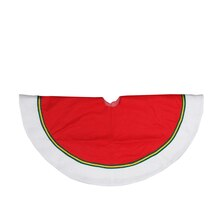 "36"" Traditional Red & Green Tree Skirt"