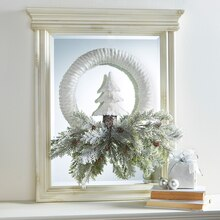 Cozy Lodge FloraCraft® Holiday Wreath, medium