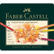Faber-Castell Polychromos Color Pencil Tin Set