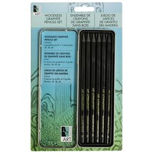 Art Alternatives Woodless Graphite Pencils Art Tin Set