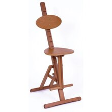 Mabef Adjustable Wooden Art Stool