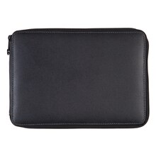 Global Art, Genuine Leather Pencil Cases, Black