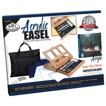 Royal & Langnickel Acrylic Easel Set & Storage Bag