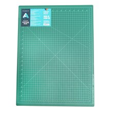 "Art Alternatives Self-Healing Cutting Mat, Green & Black 18"" x 24"""