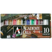 Academy® Oils, 10 Color Set